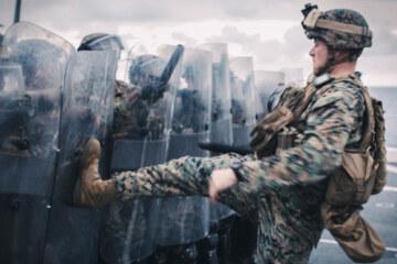 Las fuerzas policiales estadounidenses se crearon para luchar contra los alborotadores, pero probablemente empeoraron las cosas